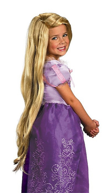 blond Tangled Rapunzel perruque