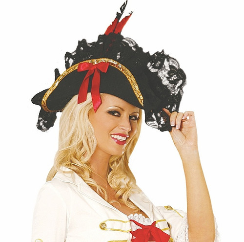 Chapeau de pirate de femmes