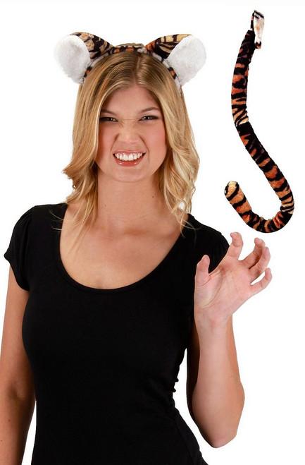 Tigre du Bengale Oreilles & Kit Queue