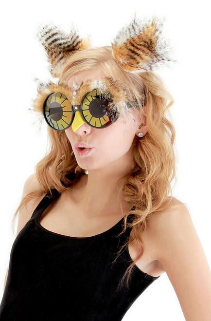 Hibou serre-tête et lunettes Kit