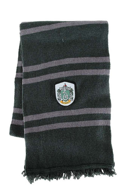 Laine Serpentard Harry Potter écharpe