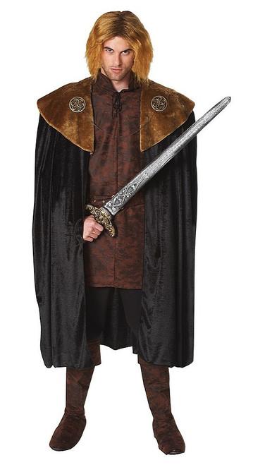 Cape Medievale de Roi Trone de Fer GOT