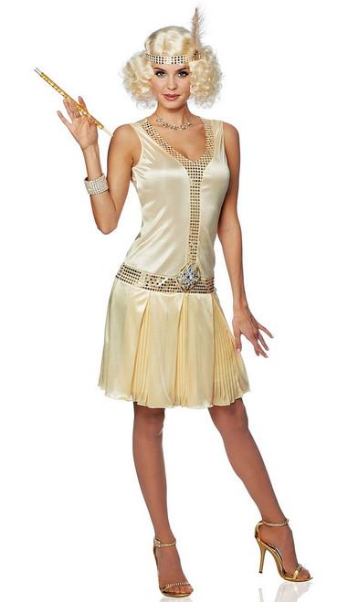 Costume de Flapper Champagne