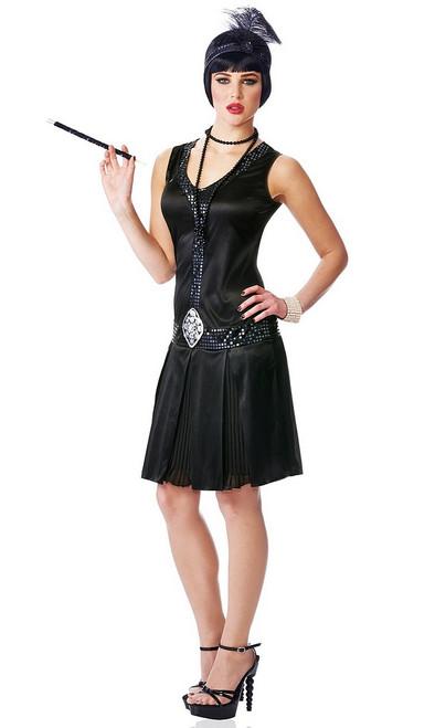 Costume Noir des années 20 de Flapper
