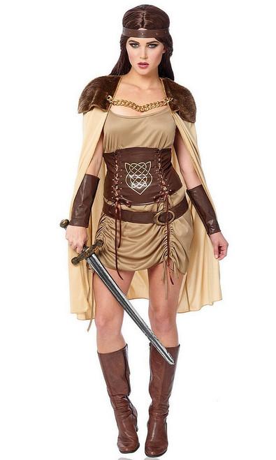 Costume de la Guerrière Viking pour Adulte