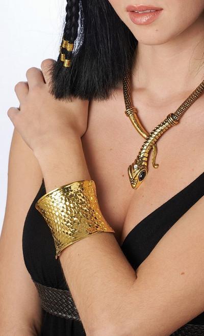 Bracelet Doré Ondulé
