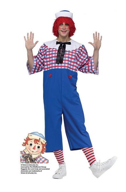 Costume de Raggedy Andy