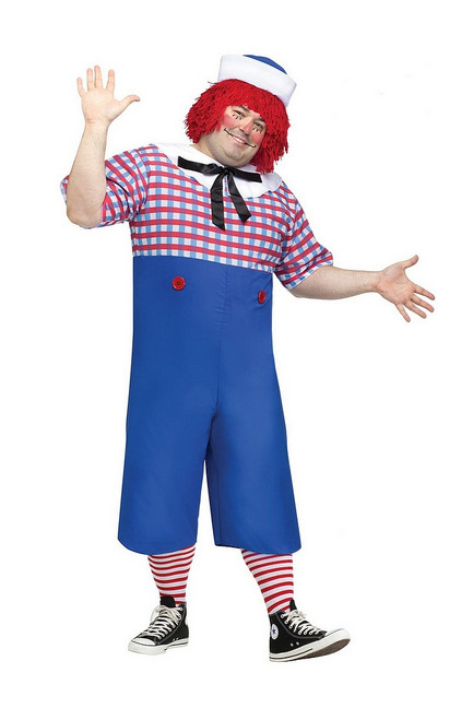 Costume de Raggedy Andy Taille Plus