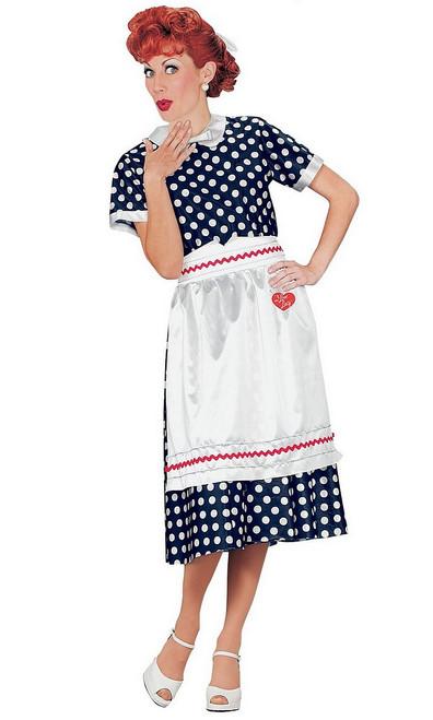 Costume de Lucie à Poids Polka