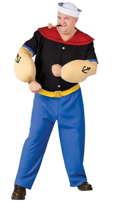 Costume de Popeye Taille Plus
