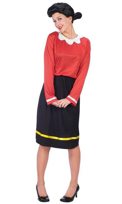 Costume de Olive, la Belle de Popeye
