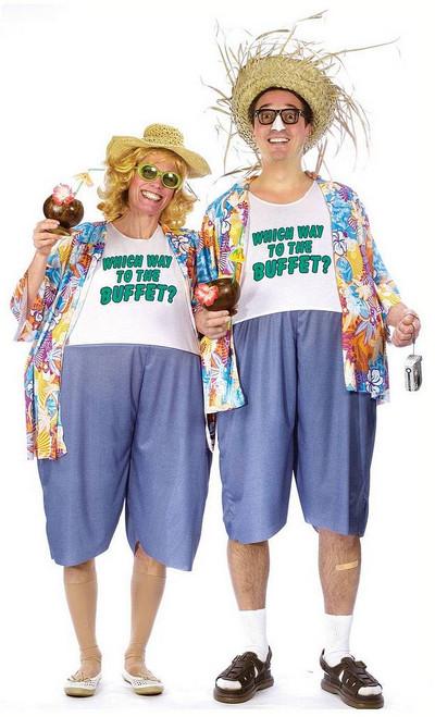 Costume Voyageur Voyant pour Adulte