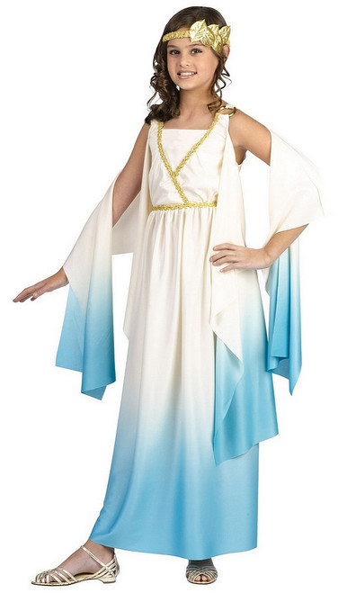 Costume de déesse grecque pour enfant
