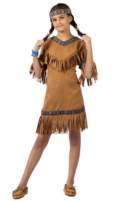 Fille Amérindienne d'Amérique