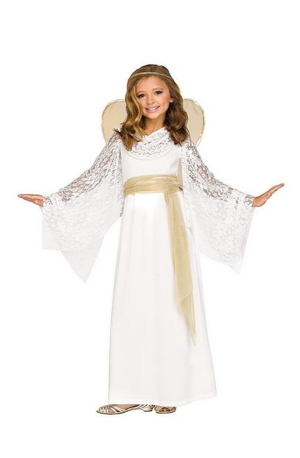 Costume de la Jeune Fille Angélique pour Enfant