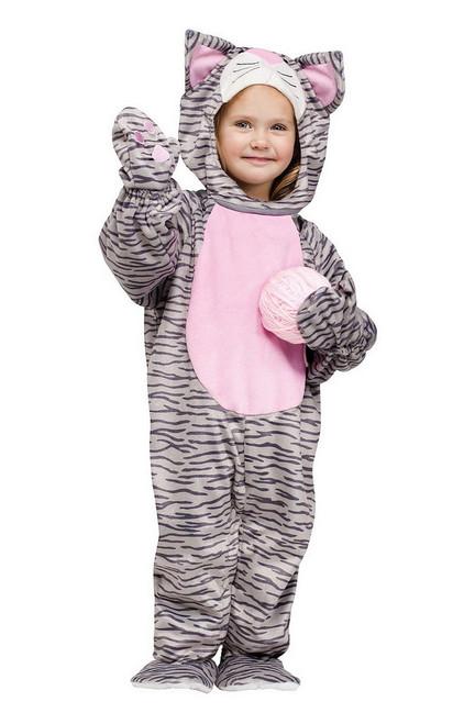 Costume de Chat Rayé Mignon pour Tout Petit
