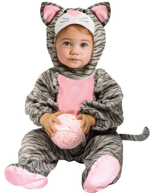 Costume de Chat Rayé Mignon pour Bébé