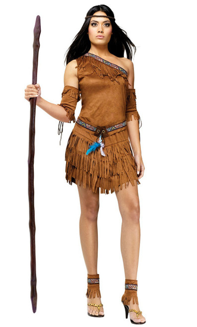 Costume Indien Pow Wow pour Adulte