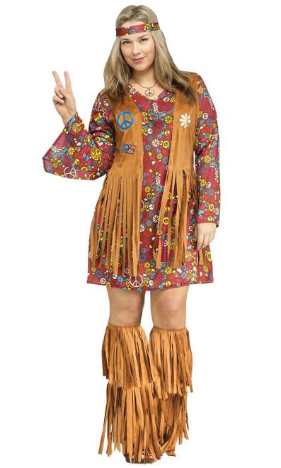 Hippie Peace&Love Taille plus