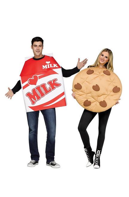 Costume du Cookie et du Lait pour Adulte