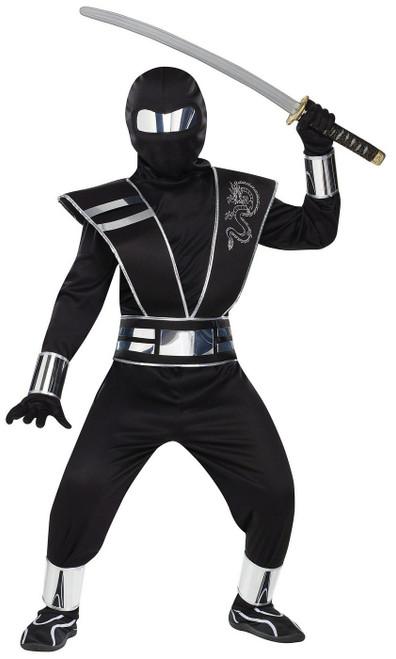 Costume du Ninja Miroir Argenté pour Enfant