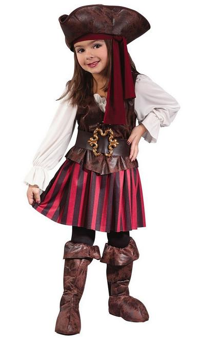 Costume de la Pirate des Hautes Mers pour Bambin
