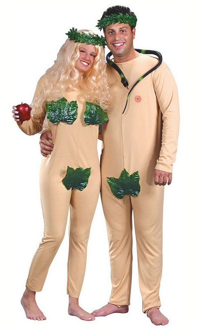 Costume du Couple Adam et Eve