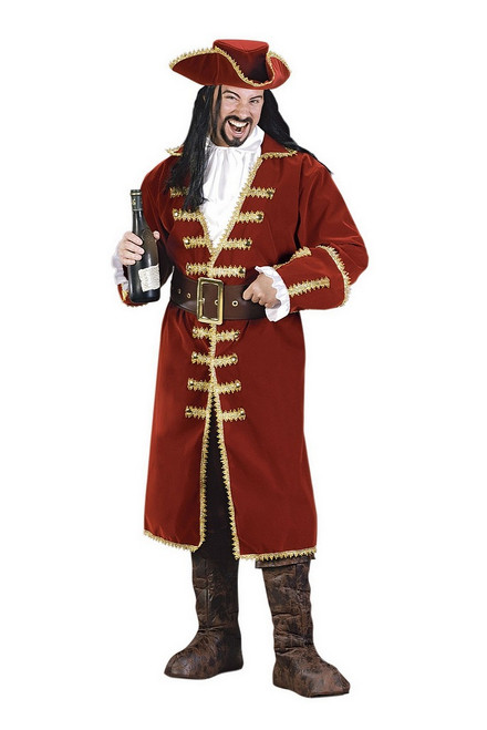 Costume du Capitaine au Coeur Noir