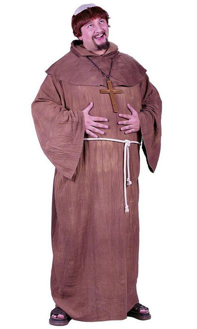 Costume du Moine Médiéval Taille Plus