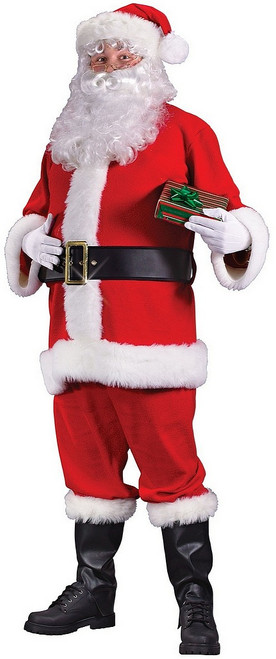 Costume en Velours du Père Noël