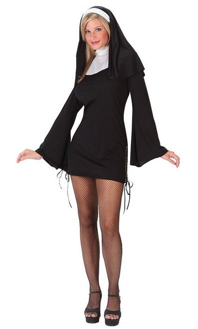 costume Nonne Coquine pour Adulte
