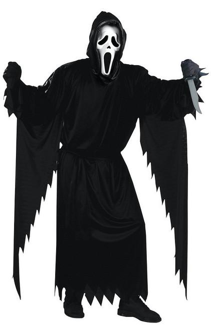 Costume du visage  de fantôme hurlant
