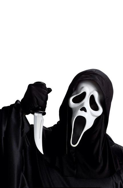 Cri Masque Ghost avec le couteau