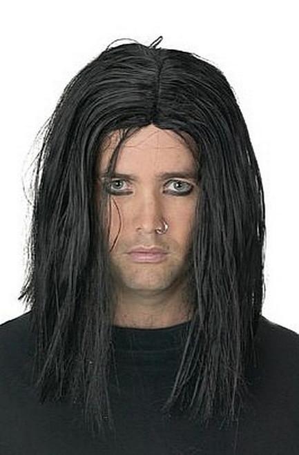 Sinister perruque noire