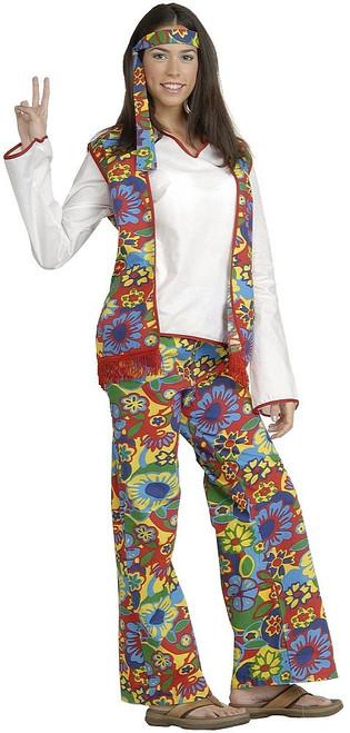 Costume de fille Hippie Dippie