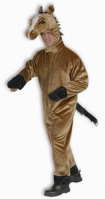 Costume de Luxe en Peluche de Cheval