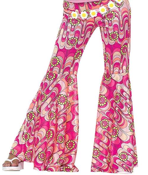 Pantalon à Fleur à Pattes d'Ef des Années 60 Z