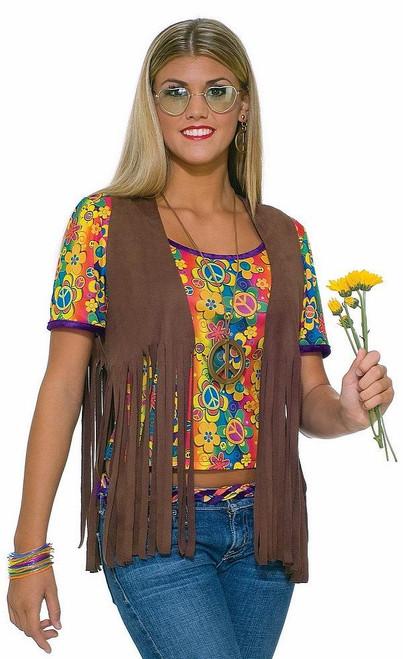Veste Hippie pour Femme Adulte