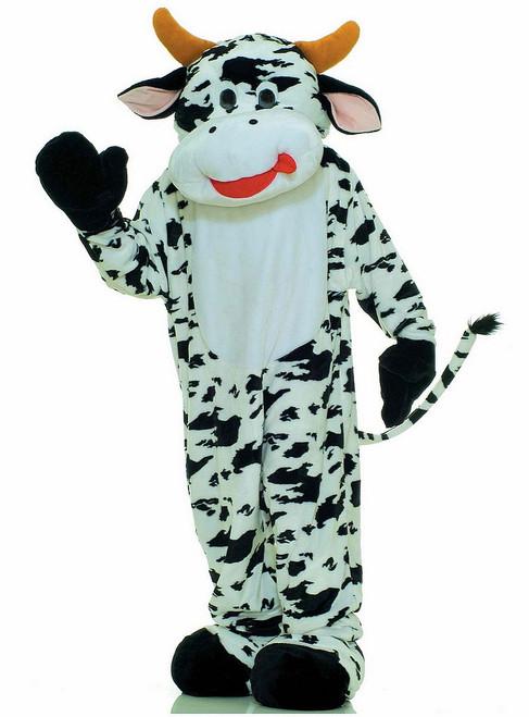 Mascotte de vache Meuh Meuh en peluche