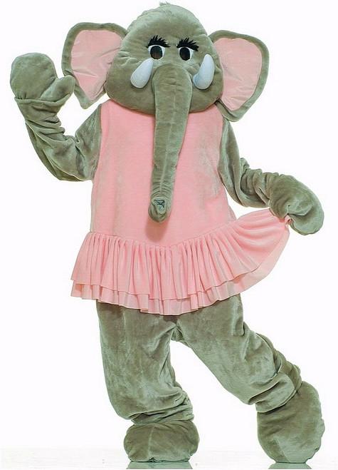 Costume d'Éléphant Deluxe en Peluche