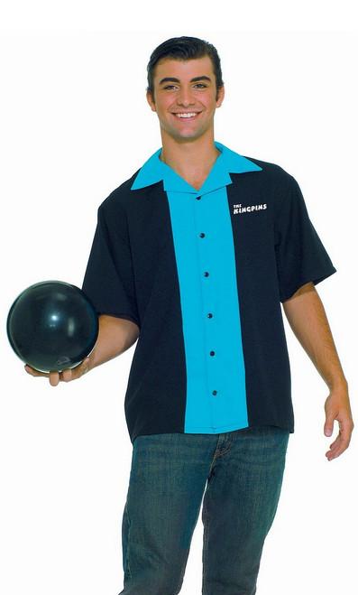 Haut du Roi du Bowling des Années 50
