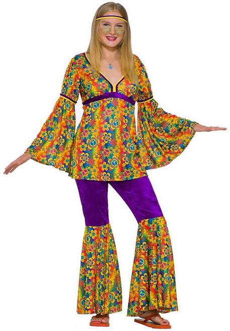 Costume de Brume Pourpre de Hippie