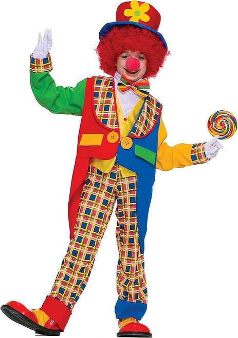 Clown Autour De La Ville