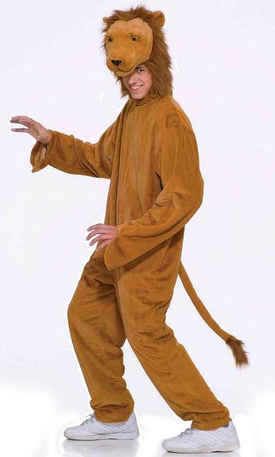 Costume  de lion en Peluche de luxe