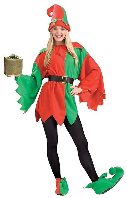 Costume Elfe Assistant Du Père Noël