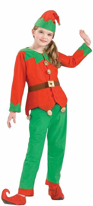 Elfe Enfant Assistant Du Père Noël