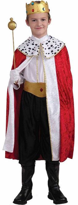 Costume du Roi Majestueux Pour Garçon