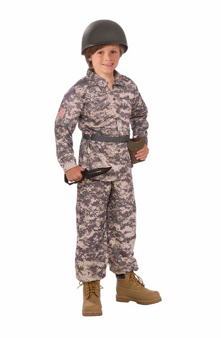 Costume du Militaire du Désert pour Enfant