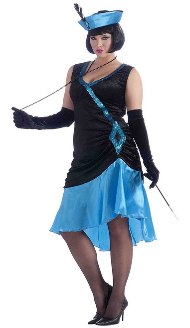 Costume Grandeur Plus du Flapper de Betty Blue