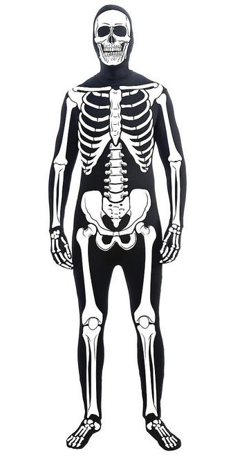 Costume Ensemble Peau de Squelette